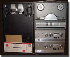 Wollensak 1980 reel tape recorder in the Reel2ReelTexas.com vintage recording collection
